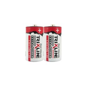 Baterie Centrum 2 ks Zinkochloridová baterie C/R14 1,5V Trixline Extra Power BC0247