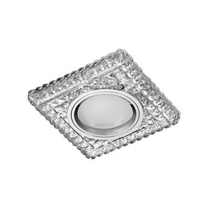 Emithor 71096 - Podhledové svítidlo ELEGANT GLASS FIX 1xGU10/50W+LED/3W 71096