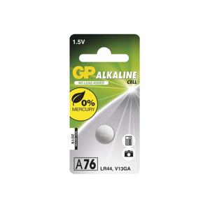 EMOS Alkalická baterie knoflíková A76 GP ALKALINE 1,5V/110 mAh EMS086