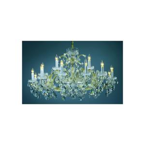 Artcrystal Artcrystal PAM523500018 - Křišťálový lustr 18xE14/40W/230V AC0022