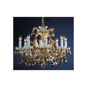 Artcrystal Artcrystal PAM523503008 - Křišťálový lustr 8xE14/40W/230V AC0024