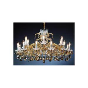 Artcrystal Artcrystal PAM523503018 - Křišťálový lustr 18xE14/40W/230V AC0026
