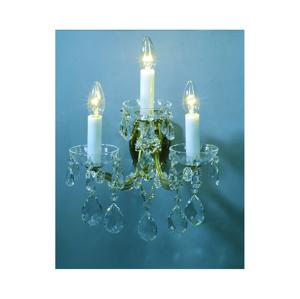 Artcrystal Artcrystal PWM531100003Traditio - Křišťálové nástěnné svítidlo 3xE14/40W/230V AC0210