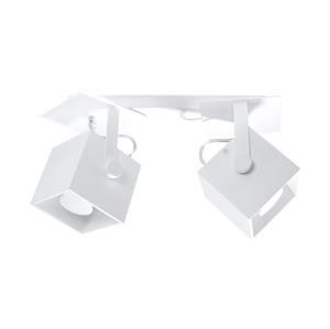Sollux Bodové svítidlo CEDRA 2 2xGU10/40W/230V bílá SLX0206