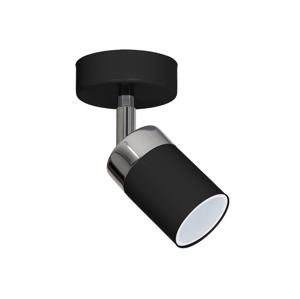 Decoland Bodové svítidlo JOKER 1xGU10/40W/230V černá DE0910