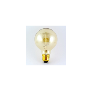 Baterie Centrum Dekorační stmívatelná žárovka VINTAGE G80 E27/40W/230V BC0080