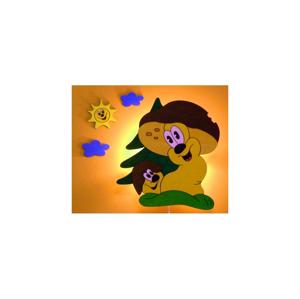 Prezent Dětské nástěnné svítidlo HŘÍBCI 1xE14/25W/220V DD74279