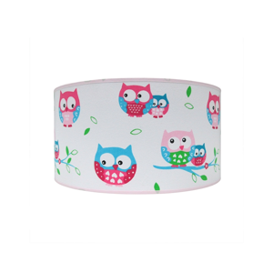 Lampdar Dětské stropní svítidlo OWLS 2xE27/60W/230V SA0669