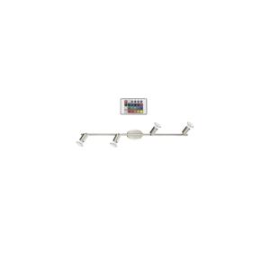 Eglo Eglo 75386 - LED RGB Bodové svítidlo BUZZ-C 4xGU10/4W/230V EG75386