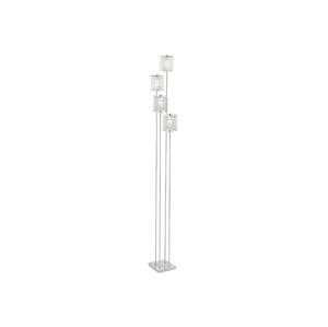 Eglo Eglo 85335 - Stojací lampa PYTON 4xG9/33W/230V křišťál EG85335