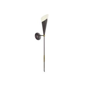Eglo EGLO 86716 - Nástěnné svítidlo MESTRE 1xE14/60W antická hnědá / zlatá EG86716
