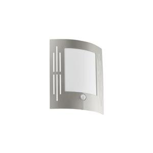 Eglo EGLO 88144 - Senzorové venkovní nástěnné svítidlo CITY 1xE27/15W EG88144