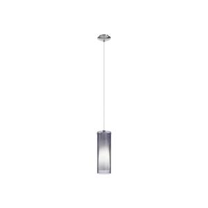 Eglo EGLO 90304 - Lustr závěsný PINTO NERO 1 x E27/60W kouřová EG90304
