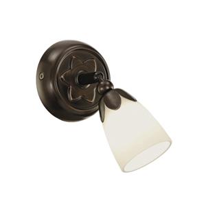 Eglo EGLO 91427 - Bodové svítidlo DANIELLE 1xG9/40W hnědá/bílá EG91427