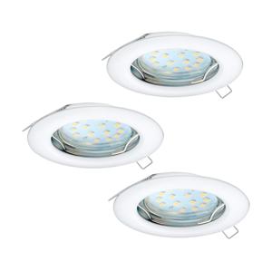 Eglo Eglo 94235 - SADA 3x LED Podhledové svítidlo PENETO 3xGU10-LED/3W/230V EG94235