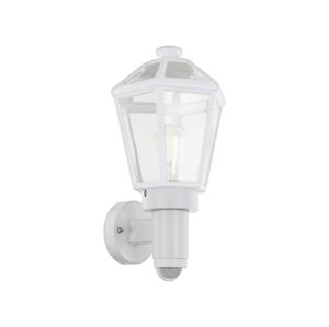Eglo Eglo 97256 - Venkovní nástěnné svítidlo se senzorem MONSELICE 1xE27/28W/230V EG97256