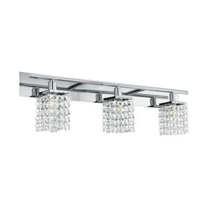 Eglo Eglo 97748 - LED Křišťálové koupelnové nástěnné svítidlo AREQUITO 3xG9/3W/230V EG97748