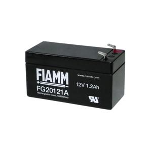 Fiamm FG20121A - Olověný akumulátor 12V/1,2Ah/faston 4,7mm
