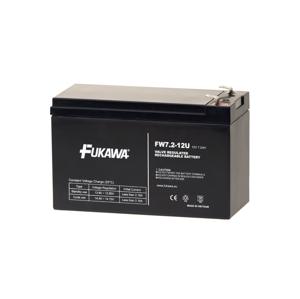 FUKAWA FW 7,2-12 F2U - Olověný akumulátor 12V/7,2Ah/faston 6,3mm