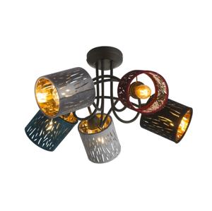 Globo GLOBO 15266-5D - Přisazený lustr TICON 5xE14/25W/230V GL4752