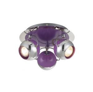 Globo Globo 57887-3 - LED bodové svítidlo SPLASH 3xGU10/5W/230V fialová GL4573