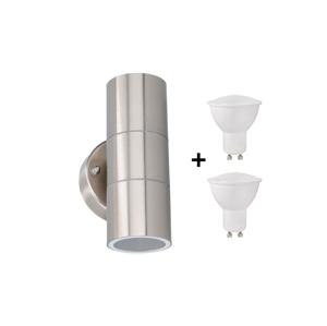 Grundig Grundig 07531 - LED Venkovní nástěnné svítidlo 2xGU10/4W/230V IP44 P2320