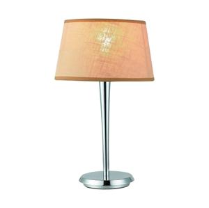 Luxera Lampa stolní COMBO béžová/chrom 18051