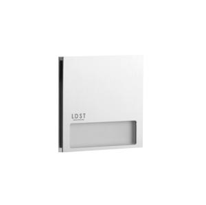 LDST LDST AL-01-SS-BZ5 - LED schodišťové svítidlo ALEX 5xLED/1,2W/230V matný chrom 6500K LD0116