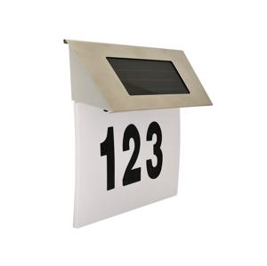 Polux LED Solární domovní číslo LED/1,2V SA0728