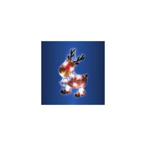 FK Technics LED vánoční dekorace do okna 10xLED/3xAAA FK0093