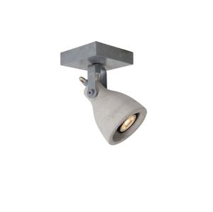 Lucide Lucide 05910/05/36 - LED bodové svítidlo CONCRI-LED 1xGU10/5W/230V šedé LC0931