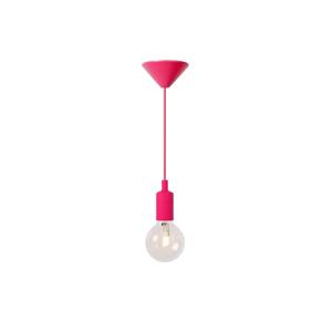 Lucide Lucide 08408/21/66 - Závěsné svítidlo FIX 1xE27/42W/230V růžové LC0997