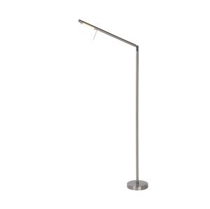 Lucide Lucide 12719/06/12 - LED Stmívatelná stojací lampa BERGAMO 1xLED/6W/230V chrom LC1135