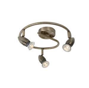 Lucide Lucide 13955/14/03 - LED bodové svítidlo CARO-LED 3xGU10/5W/230V bronz LC1180