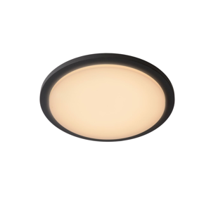 Lucide Lucide 28859/30/30 - LED koupelnové svítidlo ORAS LED/20W/230V IP54 černé LC1631