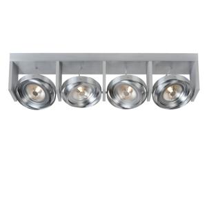 Lucide Lucide 31988/48/12 - LED bodové svítidlo ZETT-LED 4xG53/12W/230V/12V matný chrom LC1824
