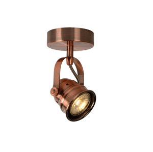 Lucide Lucide 77974/05/17 - LED Bodové svítidlo CIGAL 1xGU10/5W/230V měděná LC0477