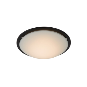 Lucide Lucide 79178/08/30 - LED stropní svítidlo RUNE LED/8W/230V černé LC2265