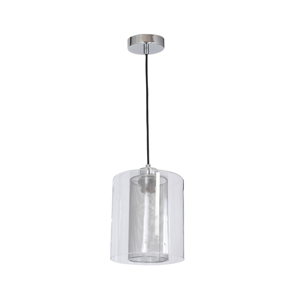 Luminex Lustr ELDA 1xE27/60W/230V lesklý chrom LU8253