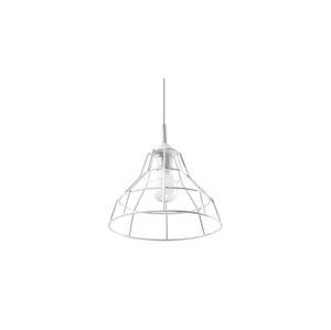 Sollux Lustr na lanku ANATA 1xE27/60W/230V bílá SLX0104