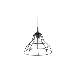 Sollux Lustr na lanku ANATA 1xE27/60W/230V černá SLX0105