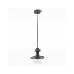 Light4home Lustr na lanku KOSMO 1xE27/60W/230V černý LH0270