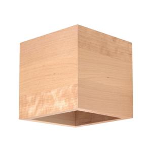 Sollux Nástěnné svítidlo QUAD 1xG9/40W/230V dřevo SLX0279