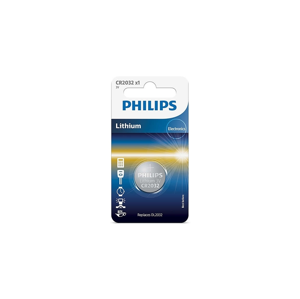 Baterie Philips CR2032 1ks