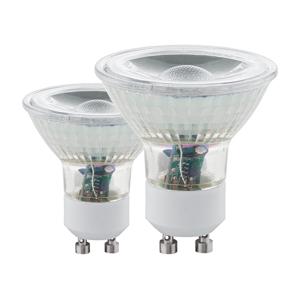Eglo SADA 2x LED Žárovka GU10/3,4W 3000K - Eglo 11475 EG11475