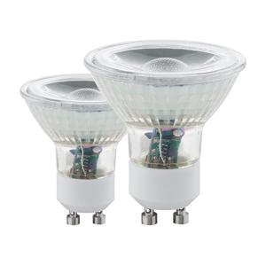Eglo SADA 2x LED Žárovka GU10/5W 4000K - Eglo 11526 EG11526