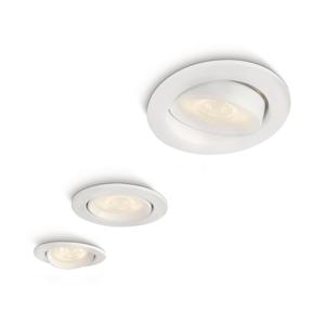 Philips SADA 3x LED podhledové svítidlo ELLIPSE 3xLED/3W/230V bílá P1162B