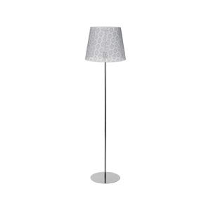Duolla Stojací lampa SYMPHONY 1xE27/40W/230V šedá DU8226