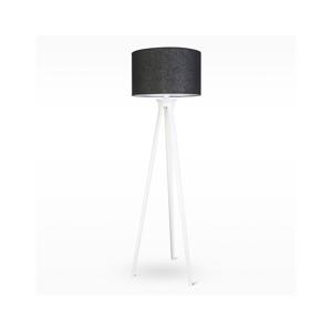 Light4home Stojací lampa TRION 1xE27/60W/230V bílé dřevo 167 cm LH0260