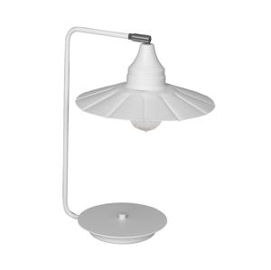 Luminex Stolní lampa BOYD 1xE27/60W bílá LU1352